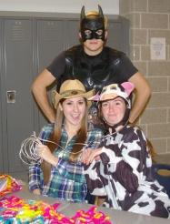Bailey Olsen, Chris Catania, and Amy Warner