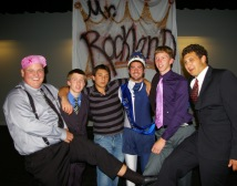 Devin Nunn,Joe Palana, Kyle Ferullo, Mike McCauley, Kevin Strobel and Chris Carchedi competed for the title of Mr. Rockland. photo by Madalyn Maloney