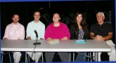 Judges were Mr. MacAllister, Mr. Smith, Ms. Walsh, Ms. McDonough and Mr. Sangster.