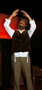 Senior Christian Malo plays Tevye in Theater Guild's Fiddler on the Roof