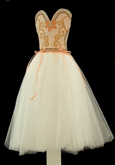 GEORGIA PANAGIOTIDIS received a Gold Key in the Fashion Design category for her Beaded Dream Dress.