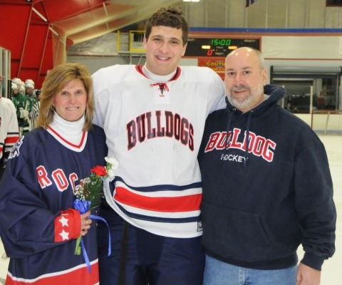 Chris Carchedi and his parents.