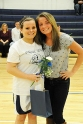 Manager Kaylee Killion with her sister Krystin.