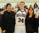 Matt Anzalone with his father Derek Anzalone and his mother, Corinne Patterson