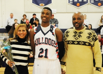 Tyler Gibson with his Mother, Elba and his father Tim Gibson