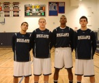 Captains Bryan Tavares, Matt Anzalone, Tyler Gibson and Matt Nicholson.