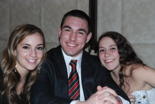Katie DeLorey, Dennis Mcpeck, and Kelsey Joyce looked amazing at dinner.
