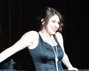 """Molly McLellan sang """"When You're Good To Mama"""" photo by Sami Murray"""