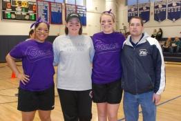 Angelica Calderon, Mrs. McGonnigal, Brianna Starkey, and Mr. Burnieika