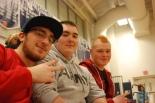 Andrew Scheim, Kenny DeWolfe and Ethan Rooney
