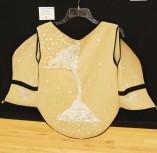 Georgia Panagiotidis' handmade vest outfit