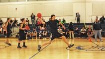 Kevin Strobel shows great form