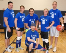 The runners- up: Mr. McDonald, Ms. Donovan, Mr. Ricchiarelli, Mr. Austin and Mr. Capone were the Dangerous Dodgers.s.