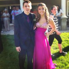 Chris Tanner and Julia Ferrante
