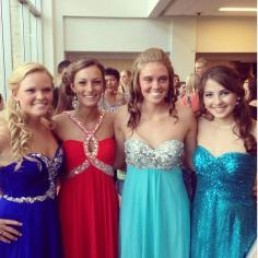 Lindsey Daggett, Brittany Lambiase, Kelsey Daggett and Gabbi DerKinderin