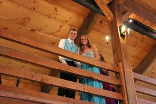 Kyle Leary and Kelsey Daggett
