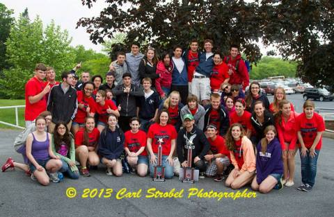 The band and chorus from RHS received trophies for first place at Hersey Park in PA.