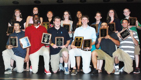 Senior Award Winners 2012-2013