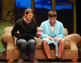 "Alyssa Collins as Gayle and Chris Catania as Lendall in ""Getting It Back"""