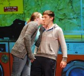 "Charis Nelson and Chris Catania exchange an unexpected kiss.in one of the vignettes from ""Almost, Maine"""