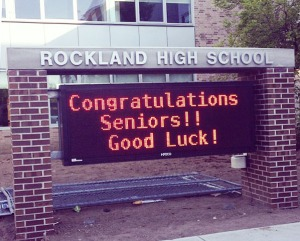 congrats to seniors