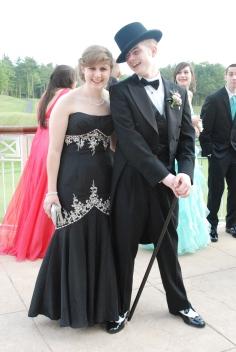 Olivia Olsen and Kyle Snow