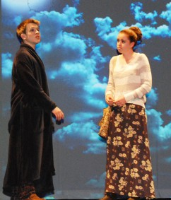 "Joe Palana and Baily Olsen in ""A Story of Hope"""