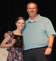 Julie Simmons and Mr. Grimmett
