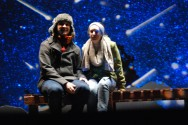 """Senior Chris Carchedi performed in his last drama production at RHS with his role in """"Almost, Maine'"""