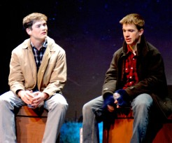 "Pearse McNally and Joe Palana in ""They Fell"""