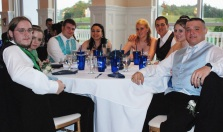 Steve Sheehan and his date, Aidan Soper, Jessica Kinan, Kaleigh Pishkin, and Jason Kinan and his date