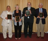 Tim Souza, Carol Souza, Louis Antonelli and Steve Sangster were inducted into the Academic Hall of Fame on June 5th