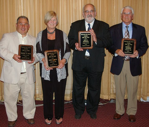 Timothy Souza, Carol Souza, Louis Antonelli and Stephen Sangster were inducted into the RHS Academic Hall of Fame.