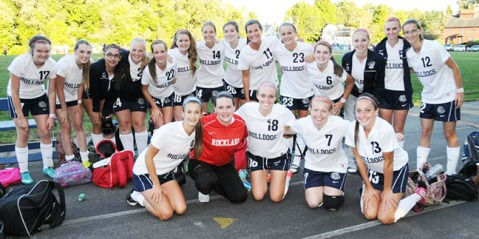 The girls soccer team are off to a great start, winning all five of their games so far.  photo by Kelley Reale