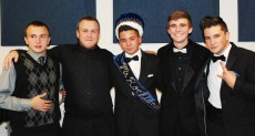 Left to right the 2013 Mr. Rockland candidates: Gerard Saucier, Jake Mesheau, Derek Crowe, Brian Leonard, and Chris Catania.