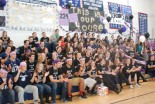 """The senior class. """"This is our House"""""""