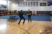 Mr. Rockland Derek Crowe and Nick Kinlin preforming Derek's act from the Mr.Rockland competition.