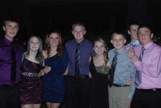 Adam Royle, Erin Buckley, Kaylee Patten, Ryan Leavitt, Alexa Leduc, Jimmy Sheehan, Chris McHugh and Mike McPeck