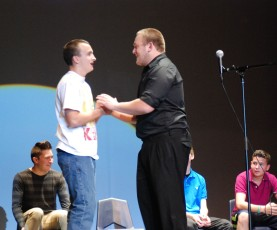 Improv: Gerard Saucier and Jake Mesheau.