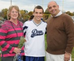 Shawnn Kane with his mom and dad.