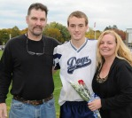 Jonathan Turner with his parents.
