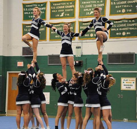 cheerleaders at leagues