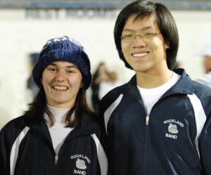 Seniors Lauren Scott and Jon Soohoo