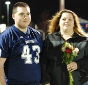 Senior Ken Dewolfe and his mom.