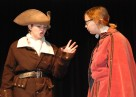 Iago (Leah Dececco) speaks to Roderigo (Jace Williams)