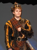 Zach Murpy plays Macbeth
