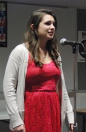"Alyssa Collins performs ""After working sixty hours again for what reason"" by Bob Hicok"