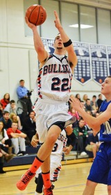 Matt Nicholson goes up for a lay-up.