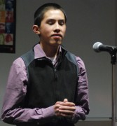 "Sean Vo performs ""Falling: the Code by Li-Young Lee"