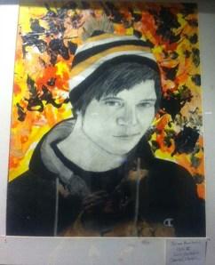 Brian Huntress' self-portrait